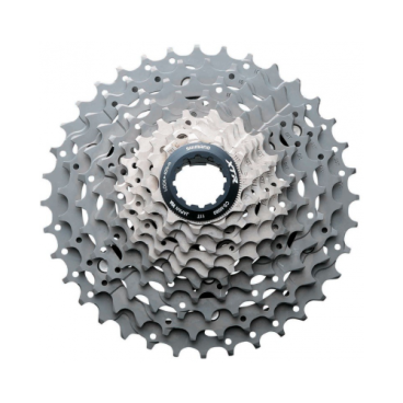 Кассета для велосипеда Shimano XTR M980, 10 скоростей, 11-34 зубца ICSM98010134Кассеты<br>Кассета XTR, M980, 10ск, 11-34