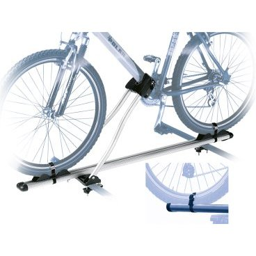 Автобагажник на крышу Peruzzo ROMA,  602TБагажники для автомобилей<br>Алюминий, для 1-го велосипеда, фиксация велосипеда: колёса установлены в полозе, за нижнюю трубу рамы, max D: 70 мм - круглая, 70х90 мм - овальная, зажим-замок под ключ, установлен на дуги max. 70 мм, цвет: серое защитное покрытие