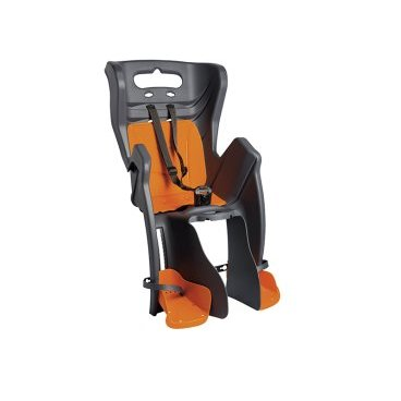 Купить Детское Велосидение На Багажник Bellelli Little Duck Clamp Заднее, Тёмно-Серое, 01Ltdm00002