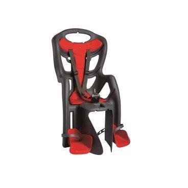 Купить Детское Велокресло На Багажник Bellelli Pepe Clamp Заднее, До 7Лет/22Кг, Тёмно-Серое, 01Ppm00002