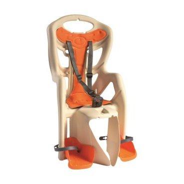 Купить Детское Велокресло На Багажник Bellelli Pepe Clamp Заднее, До 7Лет/22Кг, Бежевое, 01Ppm00025