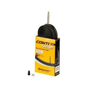 Камера для велосипеда Continental Race 28 Light, 18-622/25-630, S42, велониппель 01818210000Камеры для велосипеда<br>Race 28 Light, 18-622 - 25-630, S42