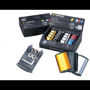 Набор для ремонта камер TOPEAK Rescue Box Counter Display Box, 16 штук, TRB02