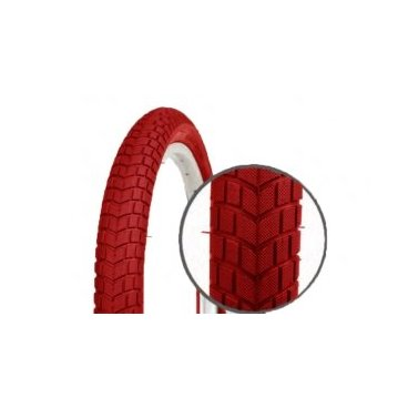 Велопокрышка детская Vinca, 16*2.125, красная, PQ-810 16*2.125 redВелопокрышки<br>Покрышка велосипедная <br>Размер: 16*2.125 <br>Цвет: красный<br>Артикул: PQ-810 16*2.125 red