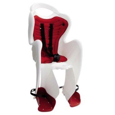 Детское велокресло BELLELLI Rabbit HandleFix, переднее, белое с красной вкладкой, 01RBT00020Детское велокресло<br>Bellelli сидение переднее, Mr Fox Standard HendleFix, белое с красной вставкой, до  14кг<br><br><br>Тип крепления: Переднее сидение<br>Тип: Велокресло