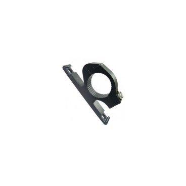 Адаптер для флягодержателя MASSLOAD CD-D13, на руль D:22-25,4 мм, алюминий, чёрный, CD-D13 фото
