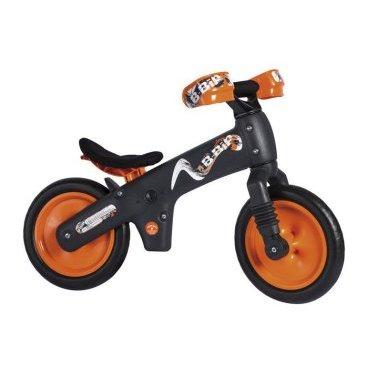 Беговел детский BELLELLI B-BIP, чёрно-оранжевый, GBE00007