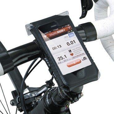 Чехол для iPhone 4/4S TOPEAK SmartPhone DryBag, чёрный, TT9816B