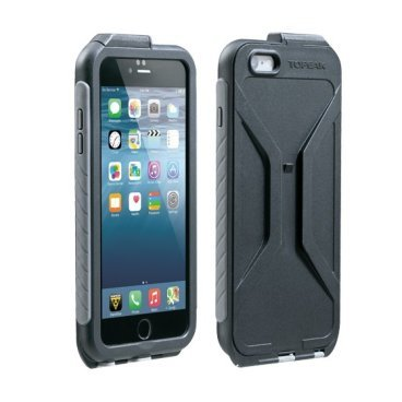 Чехол Topeak Weatherproof RideCase для iPhone 6/6S Plus, водонепроницаемый, черный, TRK-TT9848BG