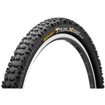 Велопокрышка Continental Trail King 2.2, 29x2.2(55-622), черная, складная, PureGrip, 150113