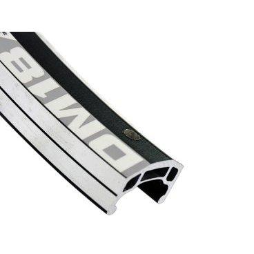 Обод ALEX RIMS DM18, 20х18,4ммх28Н, двойной, CSW, индикатор износа, черный (FR/DH/Enduro)