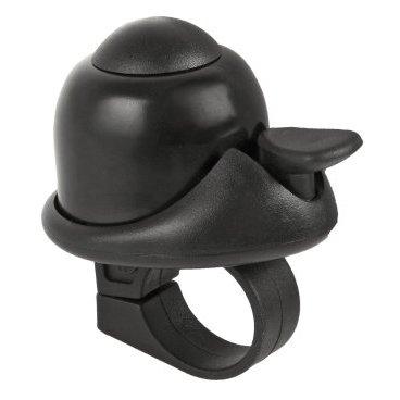 Звонок M-WAVE, алюминий/пластик, мини D=36 мм,  громкий и долгий звук, черный, 5-420066Звонки и Клаксоны<br>Звонок M-WAVE алюминий/пластик мини D=36мм громкий и долгий звук черный.