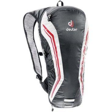 Велосипедный рюкзак Deuter Road One, с чехлом, 44х22х10, 5 л, черно-белый, 32274_7130