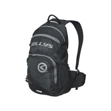 Велосипедный рюкзак KELLYS INVADER, 25 л, чёрный/серая молния, полиэстер