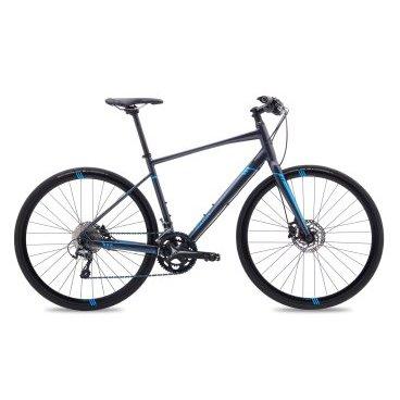 Дорожный велосипед MARIN Fairfax SC5 A-17 Q 700CГородские<br>Модель для любителей долгих и активный поездок по городу и за городом. Marin FAIRFAX SC 5 (2017) может похвастаться отличными скоростными характеристиками: накат обеспечивают 28-колеса, обутые в дорожные покрышки. Рама сделана из алюминия, а вилка из карбона, поэтому байк имеет малый вес. Шоссейные переключатели на 22 скорости работают плавно и четко. Дисковые гидравлические тормоза безопасно и быстро остановят велосипед. <br><br><br><br><br>Общие характеристики<br><br><br>Модель<br>2017 года<br><br><br>Тип<br>для взрослых<br><br><br>Область применения<br>Городской, дорожный<br><br><br>Рама, вилка<br><br><br>Материал рамы<br>алюминиевый сплав<br><br><br>Размеры рамы<br>20.0, 19.0 дюймов<br><br><br>Амортизация<br>Ригид(без амортизации)<br><br><br>Наименование жетской вилки<br>Carbon wAlloy Steerer, Post Mount Disc<br><br><br>Тип вилки<br>интегрированная, безрезьбовая<br><br><br>Рулевая колонка<br>FSA Orbit CE, Sealed Cartridge Bearings<br><br><br>Колеса<br><br><br>Диаметр колес<br>28 дюймов<br><br><br>Наименование покрышек<br>Schwalbe Lugano, 700Cx28, кевларовый антипрокольный корд<br><br><br>Материал обода<br>алюминиевый сплав<br><br><br>Двойной обод<br>Да<br><br><br>Торможение<br><br><br>Наименование переднего тормоза<br>Shimano BR-M396 Hydraulic Disc, ротор 160 мм<br><br><br>Тип переднего тормоза<br>дисковый<br><br><br>Наименование заднего тормоза<br>Shimano BR-M396 Hydraulic Disc, ротор 160 мм<br><br><br>Тип заднего тормоза<br>дисковый<br><br><br>Наименование тормозных ручек<br>Shimano M396<br><br><br>Трансмиссия<br><br><br>Количество скоростей<br>22<br><br><br>Наименование заднего переключателя<br>Shimano Tiagra, Long Cage<br><br><br>Наименование переднего переключателя<br>Shimano Tiagra<br><br><br>Наименование манеток<br>Shimano Tiagra 2x10-Speed<br><br><br>Каретка<br>External Sealed Cartridge Bearings <br><br><br>Наименование кассеты<br>Shimano Tiagra 10-Speed, 11-34T<br><br><br>Наименование цепи<br>