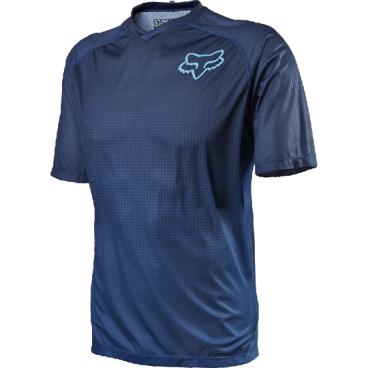 Велоджерси Fox Flow SS, синийВелоджерси<br>Джерси с коротким рукавом, разработанное специально для любителей трейлрайдинга и катания в стиле ол-маунтин. Лёгкий синтетический материал хорошо дышит и отводит влагу от тела.<br><br>ОСОБЕННОСТИ<br><br>Материал хорошо дышит и отводит влагу от тела<br>Удлинённая задняя часть хорошо прикрывает поясницу во время езды<br>Оригинальная графика<br>V-образная горловина<br>Карман на молнии<br>Микрофибровый лоскут для протирки очков на внутреннем шве