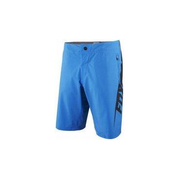 Велошорты Fox Livewire Short, Размер: М (W32), голубой, 12971-002-32Велошорты<br>Полное описание<br>Традиционные облегающие шорты для кросс-кантри и трейлрайдинга. Модель выполнена из мягкой эластичной ткани, тянущейся в четырёх направлениях.<br><br>ОСОБЕННОСТИ<br><br>Материал: полиэстер/спандекс<br>Пристежная подкладка<br>Регулируемый потайной пояс<br>Карманы на молниях<br>Оригинальная графика<br>Выход для наушников<br>Цвет: голубой