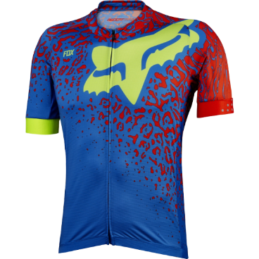 Веломайка Fox Ascent Comp SS Jersey, голубая