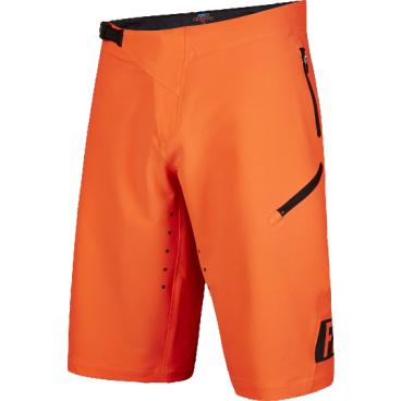 Велошорты Fox Demo Freeride Short Flow, Размер: М (W32), оранжевый, 16618-824-32Велошорты<br>Спортивные шорты от Fox Racing. Устойчивая к истиранию ткань, перфорированная лазером для улучшения вентиляции. Нижние манжеты надёжно прикрывают ноги и не мешают педалированию. Регулируемая передняя застёжка и боковые стяжки для идеальной подгонки. Карманы на молнии, выход для наушников. Свободный крой, гоночная расцветка.