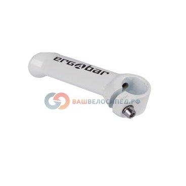 Рога для велосипеда Author алюминиевые короткие ABE-302 Wht ERGOBAR прямые сварные 8-33152006