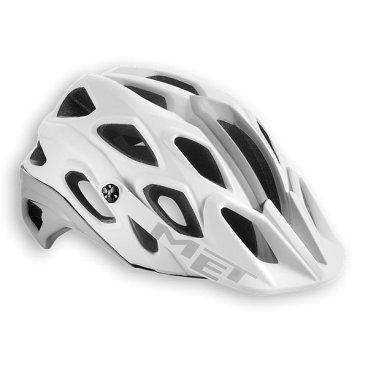 Велошлем MET Lupo, белый