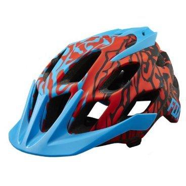 Козырек к шлему Fox Flux Helmet Visor, синий, пластик, 17764-002-NS фото