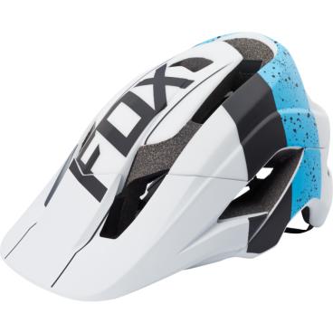 Козырек к шлему Fox Metah Visor, сине-белый, пластик, 17143-025-OS