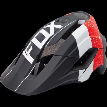 Козырек к шлему Fox Metah Visor, красно-черный, 17143-055-OS