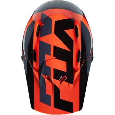 Козырек к шлему Fox Rampage Helmet Visor, оранжевый, пластик, 17763-009-OSВелошлемы<br>Оригинальный козырёк для шлема Fox Rampage Mako. Изготовлен из высокопрочного пластика.