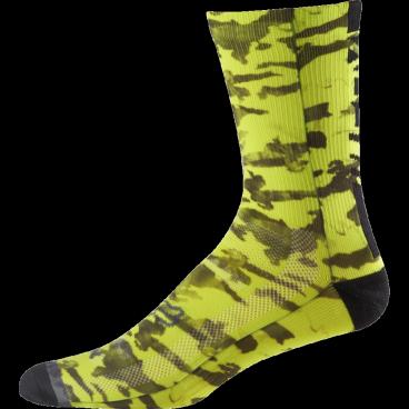 Носки Fox Creo Trail 8-inch Sock, желтые фото