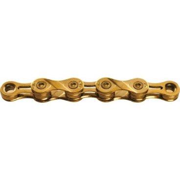 Цепь KMC X9L, 9 скоростей, 116 links, золотой, BXL9TI16