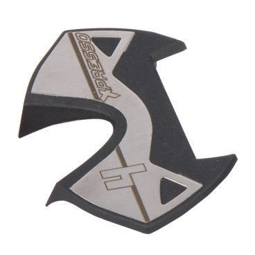 Накладки для велопедали TIME Xpresso Platform Inox, серый, 51006303