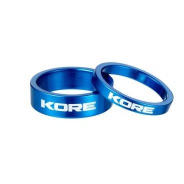 Кольцо рулевой колонки Kore, 10 мм, синий, алюминий, KSP00110LAT