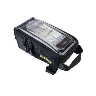 Сумка на вынос Birzman Zyklop Navigator IIl, 17/9/8 см, черный, BM13-PO-TTB02-KNGВелосумки<br>Очень вместительная и удобная универсальная сумка, идеальная для использования в условиях города. Основная особенность данной модели - специальное прозрачное окошко для работы с сенсорными дисплеями.<br><br>Функции<br><br>Сумка для крепления на верхнюю трубу рамы/Окошко для работы с сенсорными дисплеями (15х18 см)<br><br>Материал<br><br>Полиэстер 300D (влагоотталкивающий)<br><br>Размер<br><br>17x9x8cm