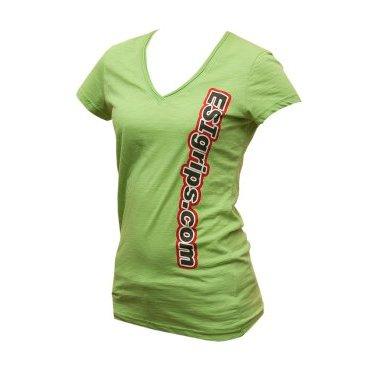 Велофутболка ESI Women's T-Shirts, зеленый