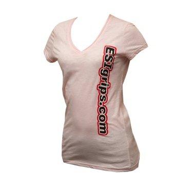 Велофутболка ESI Women's T-Shirts, розовый