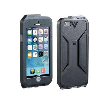 Бокс TOPEAK для iPhone  5/5s, водонепроницаемый, чёрно-синий, TRK-TT9838BU