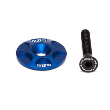 Крышка рулевой колонки A2Z, CNC 6061, болт алюминиевый 7075-T6, синий, S-Cap-4