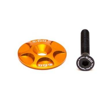 Крышка рулевой колонки A2Z, CNC 6061, болт алюминиевый 7075-T6, оранжевый, S-Cap-5