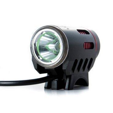 Фонарь велосипедный передний Lumen 300, 1800 lumen\1200 lumen, Cree XM-L2, черно-красный, EBL300 фото