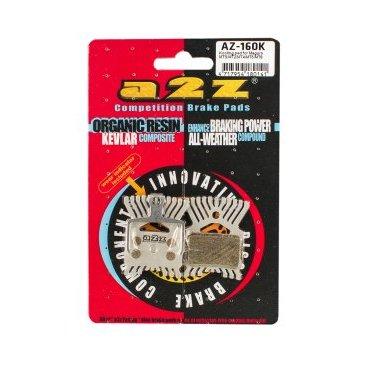 Тормозные колодки A2Z Magura MTS/MT2/MT4/MT6/MT8, с радиатором, AZ-160K