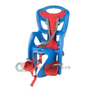 Купить Детское Велокресло На Багажник Bellelli Pepe Clamp Заднее, До 7Лет/22Кг, Синее, 01Ppm00001