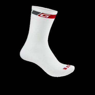 Велоноски GripGrab Summer Sock, сетчатые вставки, белый