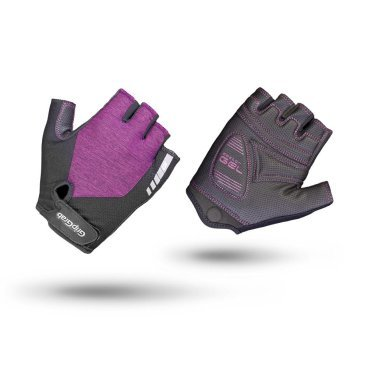 Велоперчатки женские короткие GripGrab ProGel, гелевые вставки, удаление пота, лайкра, фиолетовыйВелоперчатки<br>Велоперчатки GripGrab Short ProGel являются одними из самых удобных перчаток для женщин. Обеспечивают высокий комфорт, сцепление или стиль. Выполнены из легкого и эластичного материала. Они дают максимальную свободу движения, а благодаря технологии DoctorGel 4 мм обеспечивают отличное сцепление. Дополнительная функция удаления пота. Светоотражающий логотип для безопасности в условиях низкой освещенности. Благодаря технологии gMagnets вы не потеряете одну перчатку.<br><br>Особенности<br>Технология DoctorGel 4 мм<br>Функция удаления пота<br>Система снятия Pull-off<br>Grippy Serino ладони<br>Эластичная лайкра на верхней стороне<br>Технология gMagnets - легко хранить перчатки парой<br>Светоотражающий логотип<br><br><br>Размер перчаток XS, S, M, L <br><br>Уход<br>Машинная стирка с такими же цветами. Не отбеливать. Не сушить в стиральной машине. <br>Не гладить. Не подвергать химической чистке. Не отжимать. <br><br>Материалы<br>40% Полиэстер <br>30% Полиамид<br>20% Полиуретан<br>10% Эластан