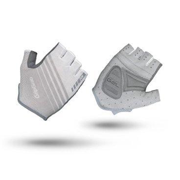 Велоперчатки женские короткие GripGrab Solara, гелевые накладки, полиэстер, белыйВелоперчатки<br>Велоперчатки женские GripGrab Short Solara - это супер легкие и дышащие перчатки с идеальным балансом между комфортом и контролем. Обеспечивают максимальную свободу движения вместе с отличным сцеплением благодаря технологии DoctorGel 4 мм. Выполнены из легких, эластичных материалов. Имеют превосходную посадку, разработанную специально для женщин. Slip-in манжеты позволяют легко одевать и снимать перчатки. Светоотражающие логотипы улучшают видимость в условиях низкой освещенности. <br><br>Особенности<br>Верх изготовлен из материала, пропускающий солнечный свет<br>Гелевые накладки DoctorGel 4 мм<br>Светоотражающий логотип<br>Система снятия Pull-off<br>Материал ладони: AX замша<br>Slip-in манжеты<br><br>Размер перчаток XS, S, M, L <br><br>Уход<br>Машинная стирка с такими же цветами. Не отбеливать. Не сушить в стиральной машине. <br>Не гладить. Не подвергать химической чистке. Не отжимать. <br><br>Материалы<br>90% Полиэстер<br>5% Полиамид<br>5% Эластан