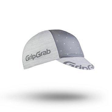 Кепка GripGrab Summer Cycling Cap, полиэстер/хлопок, серый
