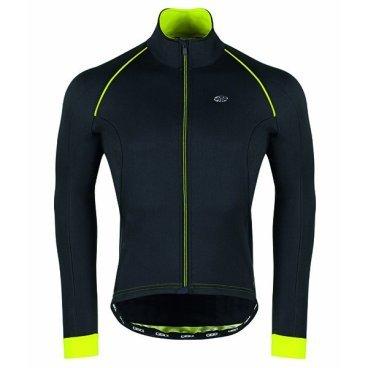 Велокуртка GSG Vars Winter Jacket, неоновый желтый, 10095-06Велокуртка<br>Биластическая зимняя куртка, как легко переносит ветер, так и водонепроницаемая.<br>Этот тип материала предоставит вам свободу передвижения.<br>Внутренняя часть куртки предназначена для обеспечения лучшей воздухопроницаемости.<br>Есть 3 кармана, плюс застежка-молния с отверстием для наушников.<br>На внешней стороне есть также отражающий патч, чтобы обеспечить лучшую безопасность для велосипедиста.<br>Передняя молния имеет автоматический съемник для облегчения открытия и закрытия.<br><br><br>ТКАНИ: MIRAGE<br><br>ВЕС: 354gr<br>ВОДНЫЕ КОЛОНКИ: