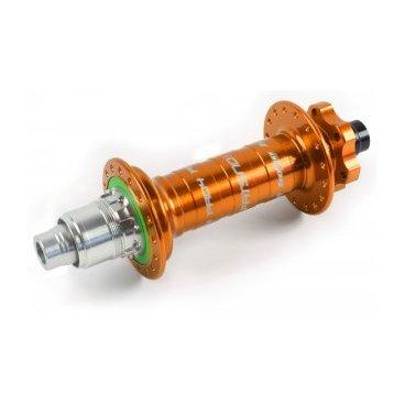 Втулка задняя для фэтбайка, Hope PRO 4 Fatsno Rear, 32H, 12x197мм XD, ОРАНЖЕВАЯ, RHP432C19712TXDВтулки для велосипеда<br>Втулка задняя оранжевая Hope PRO 4 Fatsno Rear<br>Характеристики: <br>Количество отверстий: 32H<br>Ось 12x197мм XD <br>Вес 367 грамм<br>Цвет оранжевый<br>Артикул RHP432C19712TXD<br>В барабане 4 собачки и 44 зуба в храповом механизме<br><br>Hope Pro 4 Fatsno Rear Hub - Disc - 12x197mm. Преемник топселлера Pro 2 Evo и еще более оптимизирован.<br>Pro 4 получили переработанный копрус с более крупными фланцами, чтобы следовать тенденции к большим колесам. С более высокими фланцами вы получите более сильное и жесткое колесо по сравнению с Pro Evo. Новая задняя втулка также оснащена более мощным храповым механизмом с 44 зубцами на 10% быстрее по сравнению с Pro Evo.<br>Конечно, каждый Pro 4 можно легко преобразовать для установки с другими осями, все комплекты преобразования Pro 2 Evo совместимы с Pro 4.<br>Hope Pro 4 Fatsno 197 мм - высококачественная и изящно сконструированная задняя втулка, сделанная из алюминия 2014 T6. <br>Pro 4 включает в себя дальнейшее развитие проверенного храпового механизма Hope - это корпус ротора из цельного куска алюминиевого сплава и держателем собачек. Четыре собачки входят в зубчатый стальной храповой механизм на 44 зубца, закрепленный в корпусе втулки, и закрытый сальником свободным от касания и следовательно трения о подвижные детали. Совместимость с различными рамами и вилками обеспечивается с помощью нескольких наборов адаптеров. <br>Увеличенный диаметр фланцев разпределяет отверстия под спицы дальше друг от друга. Это позволяет использовать более короткие спицы для создания более надёжного, более жесткого и прочного колеса. Они работают на подшипниках из нержавеющей стали, что обеспечивает больший срок службы, большую плавность и накат и большую ценность за свои деньги. Корпус ступицы выполнен на ЧПУ и анодирован. Совместима со всеми тормозными дисками под крепление ISO на 6 отверстий. Вес 367 грамм.