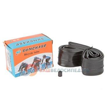 Камера для велосипеда SUNCHASE, натуральная резина, 16x1.75/2.125 A/V автониппельКамеры для велосипеда<br>Камера натур. Резина.16x1.75/2.125 A/V в цветной коробке