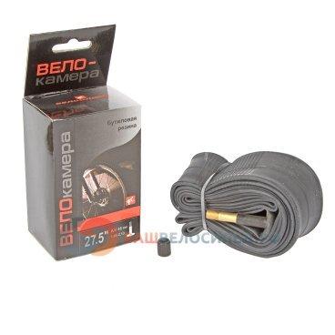 Камера велосипедная SUNCHASE, 27.5x1.9/2.10, A/V 48 мм, бутиловая резина, автониппельКамеры для велосипеда<br>Велосипедная камера обеспечивает давление внутри покрышки. Воздух накачивается через ниппель. <br><br>Камера велосипедная SUNCHASE<br>27.5x1.9/2.10<br>Автониппель 48 мм<br>Бутиловая резина